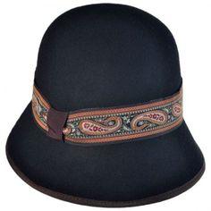 available at  VillageHatShop Paisley Cloche by Jeanne Simmons Flapper Hat 1e0701c6bad