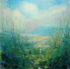 "Saatchi Online Artist: Sandy Dooley; Acrylic, 2013, Painting ""Cornish walk"""