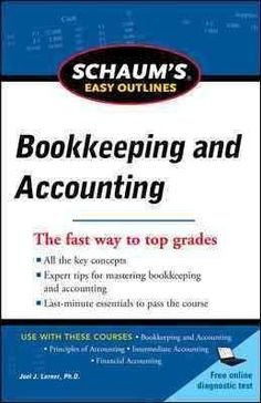 If you are looking for a quick nuts-and-bolts overview, turn to Schaum's Easy Outlines! Schaum's Easy Outline of Bookkeeping and Accounting is a pared-down, simplified, and tightly focused review of t