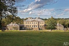 UNVEILS DUMFRIES HOUSE  Scotland's most dazzling historic country house opens its doors after a rejuvenation spearheaded by His Royal Highness the Prince of Wales