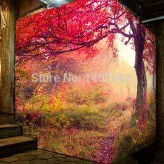 Online Shop High quality Modern Luxury wallpaper 3D wall mural papel de parede photo wall paper Fantasy Forest papeis de parede 3d|Aliexpress Mobile