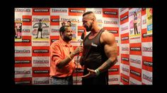 South African bodybuilder John Lucas at BodyPower 2016 Exclusive Intervi...