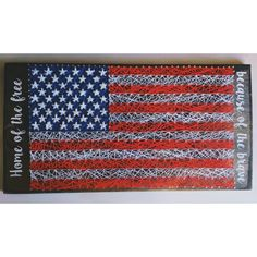 Wood American Flag Wall Art american flag metal wall art | metal wall art, metal walls and flags