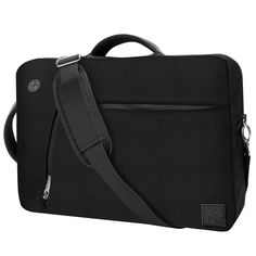 """Slate Laptop Bag converts from messenger to backpack.  Holds a laptop up to 15"""""""