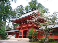 famous Shinto shrine, Tokyo, Japan