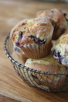 Cinnamon Dusted Einkorn Blueberry Muffins, These are fantastic! I made them with coconut sugar(I still dusted the tops with sucanut). So Yummy!