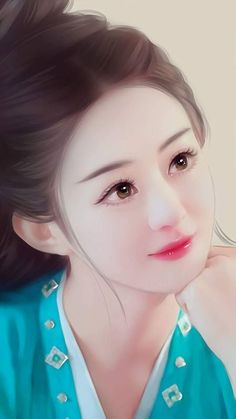 True Girl like Fashition Beautiful Fantasy Art, Beautiful Anime Girl, Beautiful Asian Girls, Lovely Girl Image, Cute Cartoon Girl, Cute Girl Wallpaper, Painting Of Girl, Digital Art Girl, Beauty Art