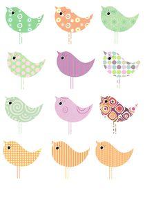#Birds #Clip Art #scrapbook