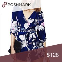 YUMI KIM Botanical Escape Romper Playsuit Jumpsuit Yum Kim Navy Botanical Escape Romper Playsuit New W/Tag As seen on Lucy Hale of Pretty Little Liars Retail $229 100% Polyester This romper will fit a size 0 or XS with the following measurements. Bust 31-32, Waist 24-25, Hips 35-36 New w/ tags in shades of blue, white, pink &orchid. Pockets & belt loops at waist, concealed back zip closure.  Belt is not included but can be replaced w/ a cute thin belt in a coordinating color. Ships fast from…