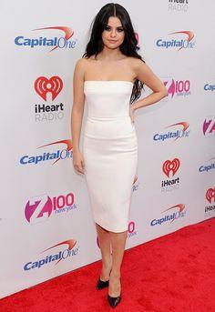 Selena Gomez at Z100's Jingle Ball 2015, December 11th