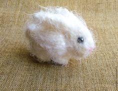 Вяжем спицами настоящего миниатюрного кролика – Ярмарка Мастеров