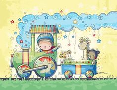 One of my favorite illustrations by one of my favorite artists, Rachelle Anne Miller.