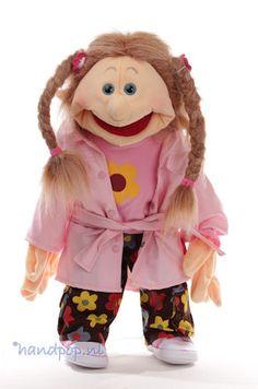 Kati. 65 cm grote Living Puppets menspop bij Handpop.nl