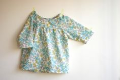 made from Oliver + S Class Picnic Blouse Pattern - inspiration
