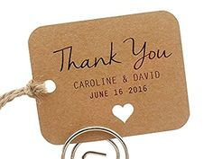 Summer-Ray.com 50 Personalized Mini Kraft Wedding Favor Gift Tags Rounded Rectangle, http://www.amazon.com/dp/B014LBQ41M/ref=cm_sw_r_pi_awdm_x_lDm7xbBKNCTKG