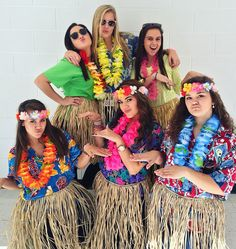 Tropical Day #SpiritWeek #Costume #Hawaiian