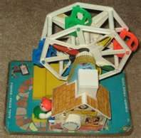 I bought one of these for my Son's 1st Christmas. He is now 37....My 6 Grandchildren have played with it and had a ball. It's still going. <3