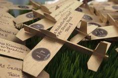 airplane escort cards for travel wedding Aviation Wedding, Aviation Theme, Trendy Wedding, Wedding Styles, Our Wedding, Wedding Ideas, Wedding Decor, Destination Wedding, Pilot Wedding