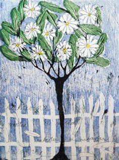 Daisy tree, Mirka Johansson, graphic