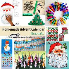 Homemade Advent Calendar - Ideas crafts