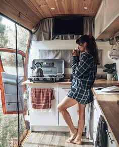 Camping my passion # freedom alone # enjoy . Camping my passion # freedom alone # enjoy . Bus Life, Camper Life, Camper Van, Rv Campers, Camping Ideas For Couples, Kombi Home, Chuck Box, Vanz, Van Home