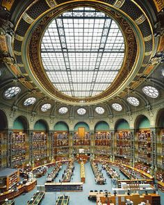 The Bibliothèque nationale de France is the National Library of France, located in Paris.