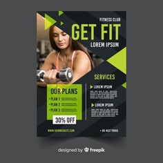 Discover recipes, home ideas, style inspiration and other ideas to try. Flyer Free, Free Flyer Templates, Graphic Design Brochure, Graphic Design Posters, Sport Flyer, Fitness Flyer, Visiting Card Design, Professional Business Card Design, Creative Flyers