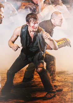 Daryl Dixon. Merle Dixon. Norman Reedus. Michael Rooker.  My 13 year old and I watch this together