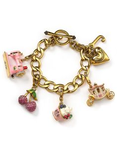 Juicy Couture charms are so cute! They make me happy. :)