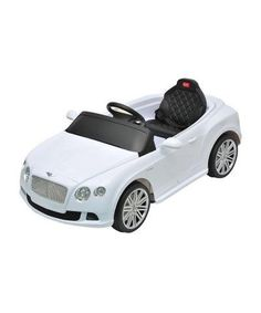 Bentley GTC Kids 6v Electric Ride on Toy Car w/ Parent Remote Control Description: Start teaching your kids the rules of the road with this officially licensed Bentley GTC. This electric powered car i