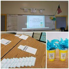 Meet-your-Teacher Night, my first year teaching 3rd grade