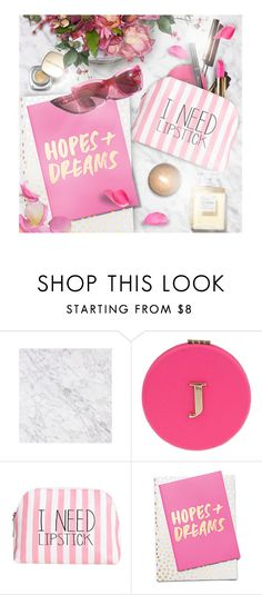 """""""Pop of Pink"""" by kearalachelle ❤ liked on Polyvore featuring beauty, Miss Selfridge, Itsa Girl Thing, ban.do, Garance Doré, Chanel and lovefromabove"""