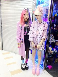 † pastel goth styles †