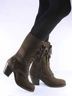 Lace-up boots, VEGAN, Wills vegan shoes : 130.15€