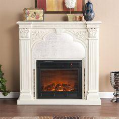 Palomar Electric Fireplace.