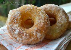 Ciambelle di patate e vaniglia