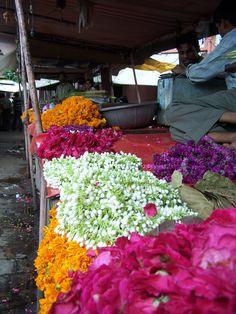 Flower Market in Jaipur India