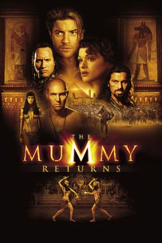 盜墓迷城2|The Mummy Returns|130min / 2001 |#StephenSommers     #BrendanFraser     #RachelWeisz     #JohnHannah |#Action, Adventure, Fantasy     #USA     #Movie     #Poster