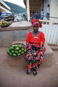 Beautiful Woman in Kigali, Rwanda (by Duplisea)