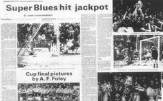 Flashback: Limerick Edge Out Bohs To Claim 1982 Cup Latest Video, Blues, Photo Wall, Pictures, Fotografie, Paintings, Clip Art