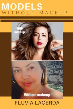 MODELS WITHOUT MAKEUP - Off duty or on duty, Brazilian Plus Size model Fluvia Lacerda looks lovely in or out of makeup. Models Without Makeup, Models Off Duty, Plus Size Model, Celebs, Celebrities, Role Models, Photoshoot, Modeling, Templates