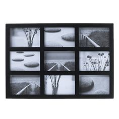 Room Essentials® 9-Opening Collage Frame - Black 4x6