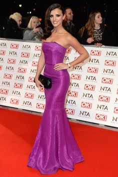 Lucy Mecklenburgh looking gorgeous in a Roland Mouret frock. Strapless Dress Formal, Formal Dresses, Roland Mouret, Looking Gorgeous, Frocks, Style Icons, Awards, Glamour, My Style