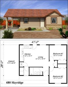 new orleans cottage house plan by freegreen small houses cabins cottages pinterest cottage house - Floor Plans For Small Houses