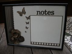 Cool whiteboard project using a picture frame