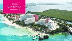 Cancun - The Grand Oasis Palm All-Inclusive offers endless activities, entertainment, family-friendly accommodations, child-centric restaurants and Kids Club.