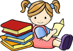 reading clipart #2784, Clipart | Kids Pedia