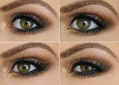 How To Make Eye Makeup For Brown Eyes