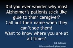 Alzheimers Care Why Do The Deeply Forgetful Say No So Often