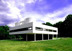 Villa Savoye- Le Corbusier what a journey to see it but worth it- the man was a genius! Interior Neoclásico, Residential Interior Design, Best Interior Design, Study Architecture, Beautiful Architecture, Architecture Details, Concrete Architecture, Le Corbusier, Villa Savoye